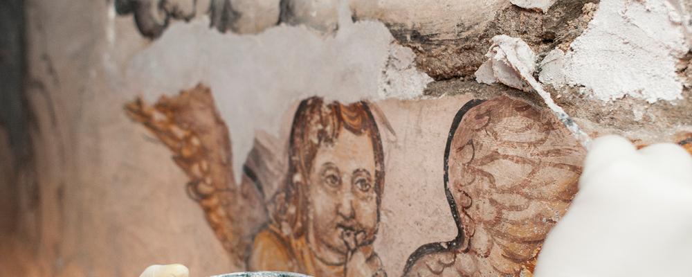 Las pinturas que salen a la luz después de 200 años