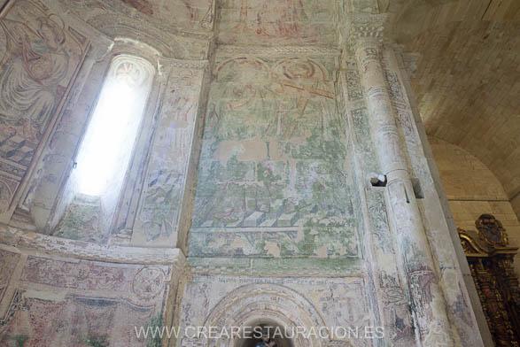 Palas de Rei - Vilar de Donas - Pintura Mural. Z.EPÍSTOLA-14- BLOG