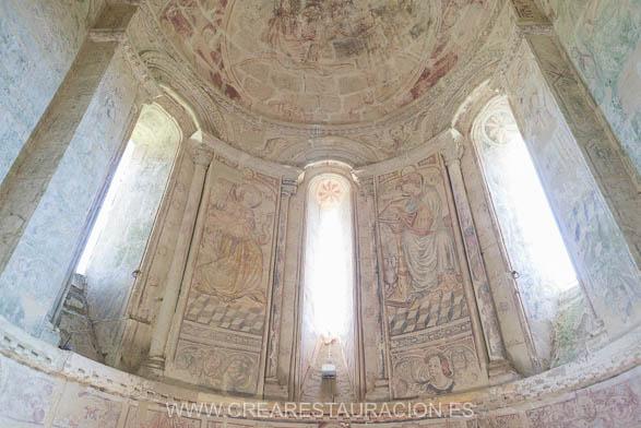 Palas de Rei - Vilar de Donas - Pintura Mural. Z.EPÍSTOLA-42- BLOG-2