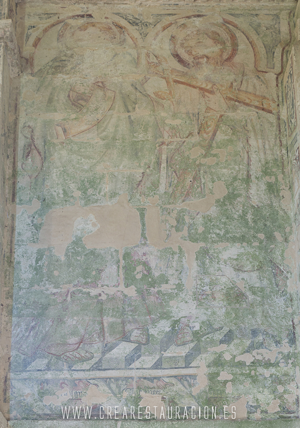 Palas de Rei - Vilar de Donas - Pintura Mural.- Inicio