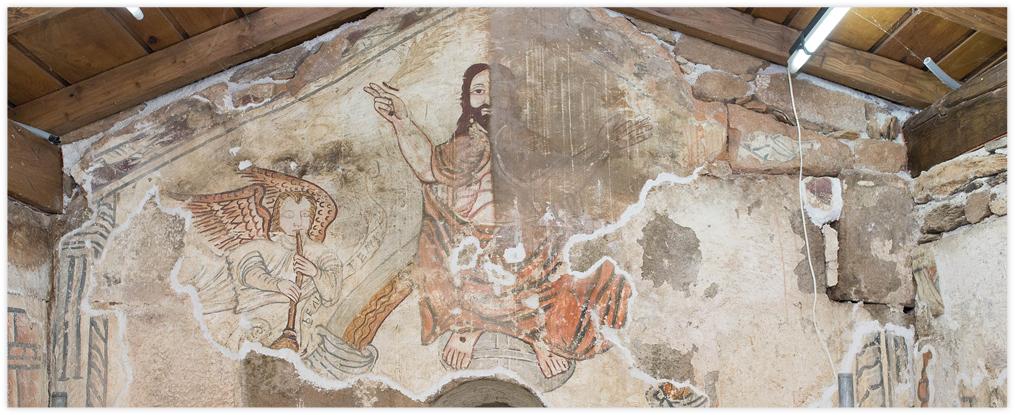 Pinturas murales de Palio, Lalín